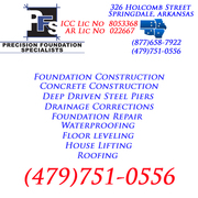 NWA Rogers Arkansas Basement & Foundation Repair Contractor