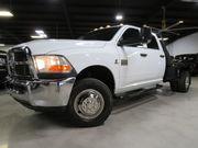 2010 Dodge Ram 3500 6.7L CUMMINS DIESEL 4X4 6SPDAT NAVIGATION FLAT BED